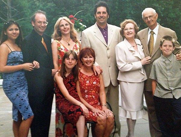 Nancy Popkin with Family, 2000