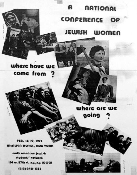 First National Conference of Jewish Women poster
