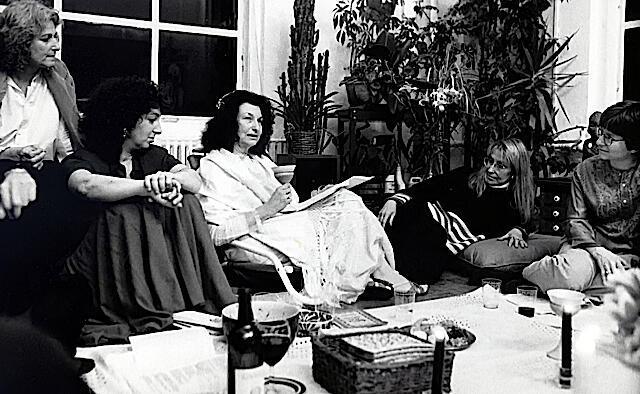 Esther Broner Seder with Letty Cottin Pogrebin and Martha Ackelsberg