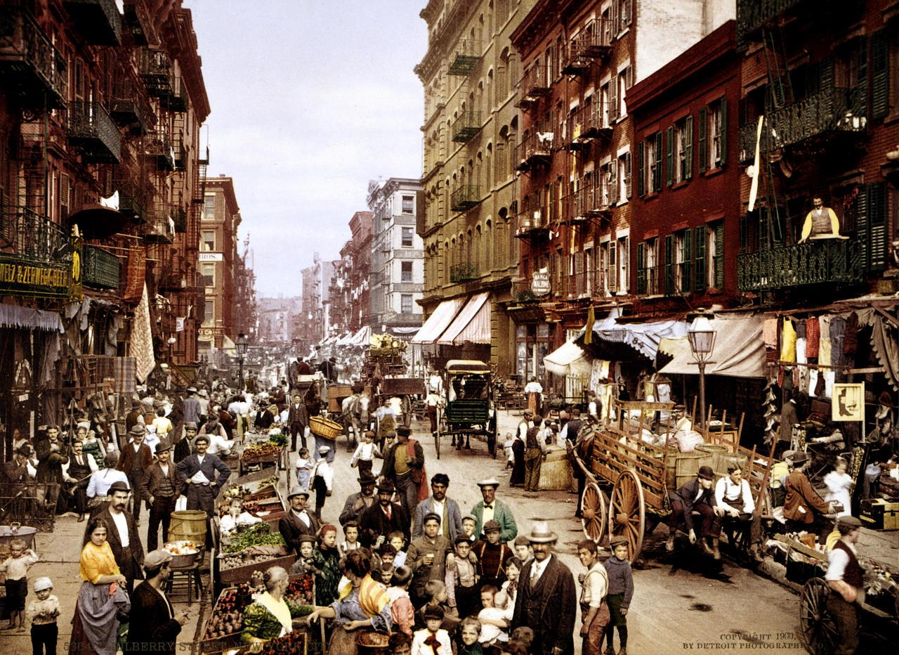 NYC Mulberry Street