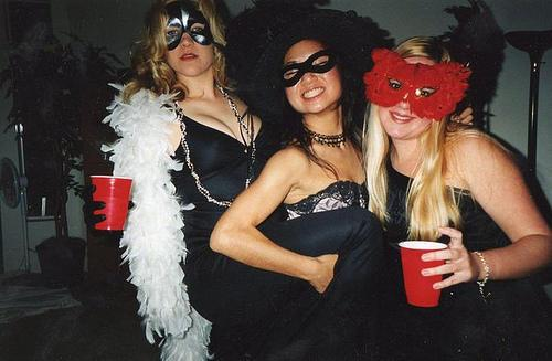 College Costume Party