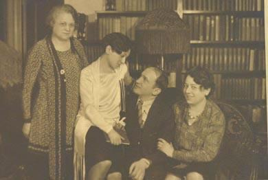 Family Portrait: Mama Picon, Molly, Yonkel, and Sister Helen