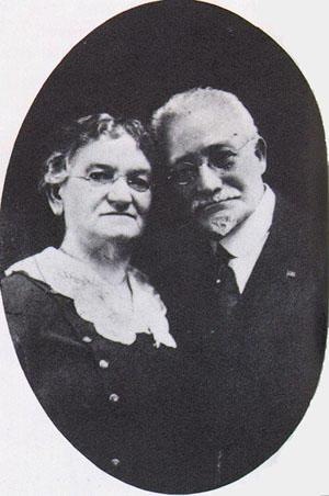 Molly Picon's Grandparents Ostrovsky circa 1908