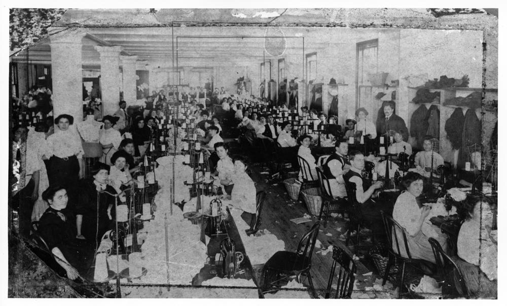 Photo of a Large Garment Factory