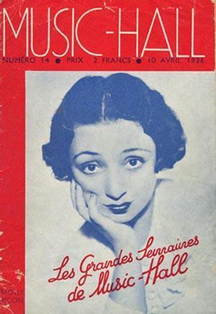 Music Hall Program April 10, 1936