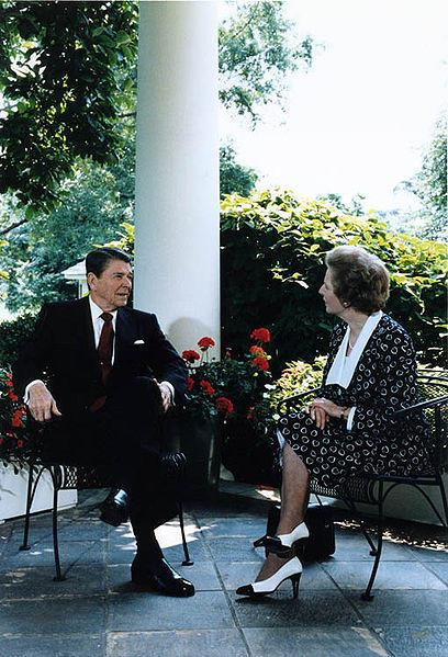 Regan Thatcher 1987