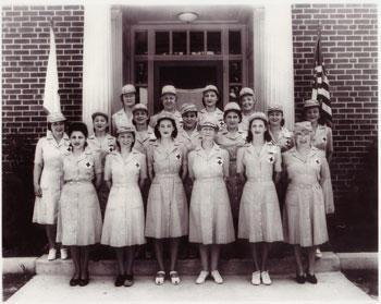 American Red Cross Canteen Corps in Virgina, from the Newport News, 1942