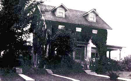 The house in which Ray and Simon Litman lived from 1921 to 1925, Urbana, Illinois