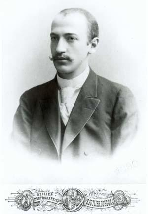 Ray Frank's Husband Simon Litman, 1898