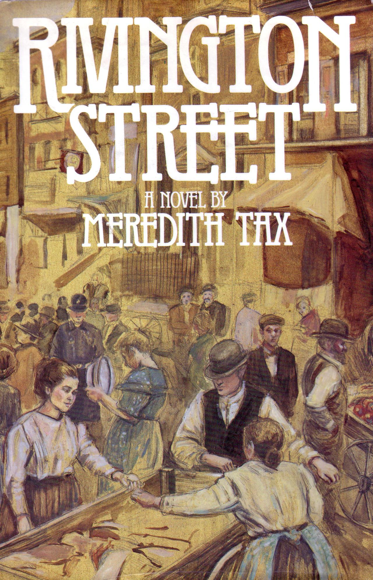 Rivington Street by Meredith Tax cover
