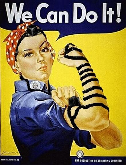 """We Can Do It"" Poster, circa 1943"