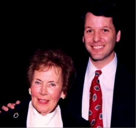 Ruth Nussbaum and Rabbi John Rosove