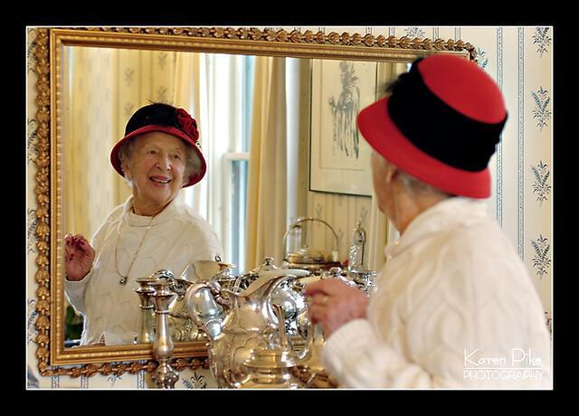 June Salander mirror