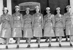 First Officer Graduating Class of WAACs