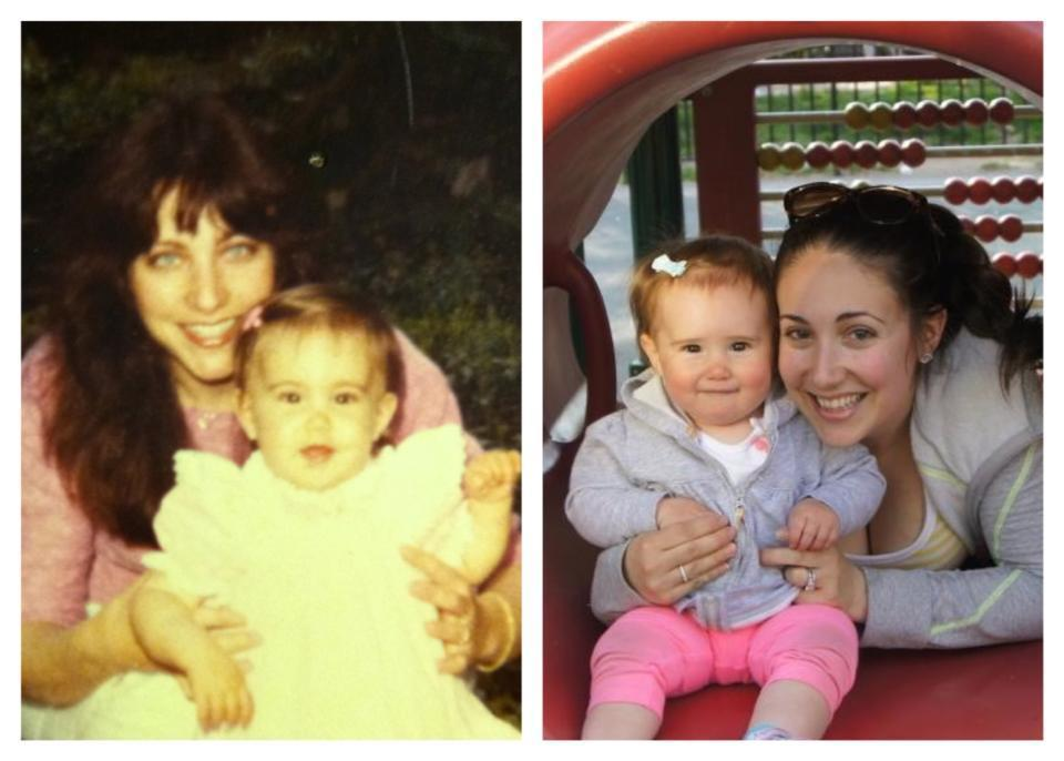 Shannon Sarna & her mom_ Shannon Sarna & her Daughter