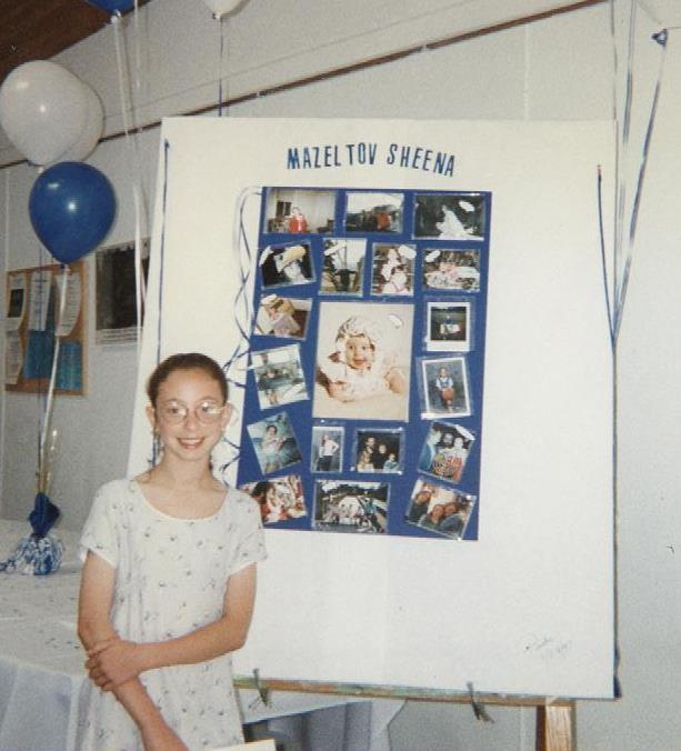 Sheena Levi Bat Mitzvah Photo