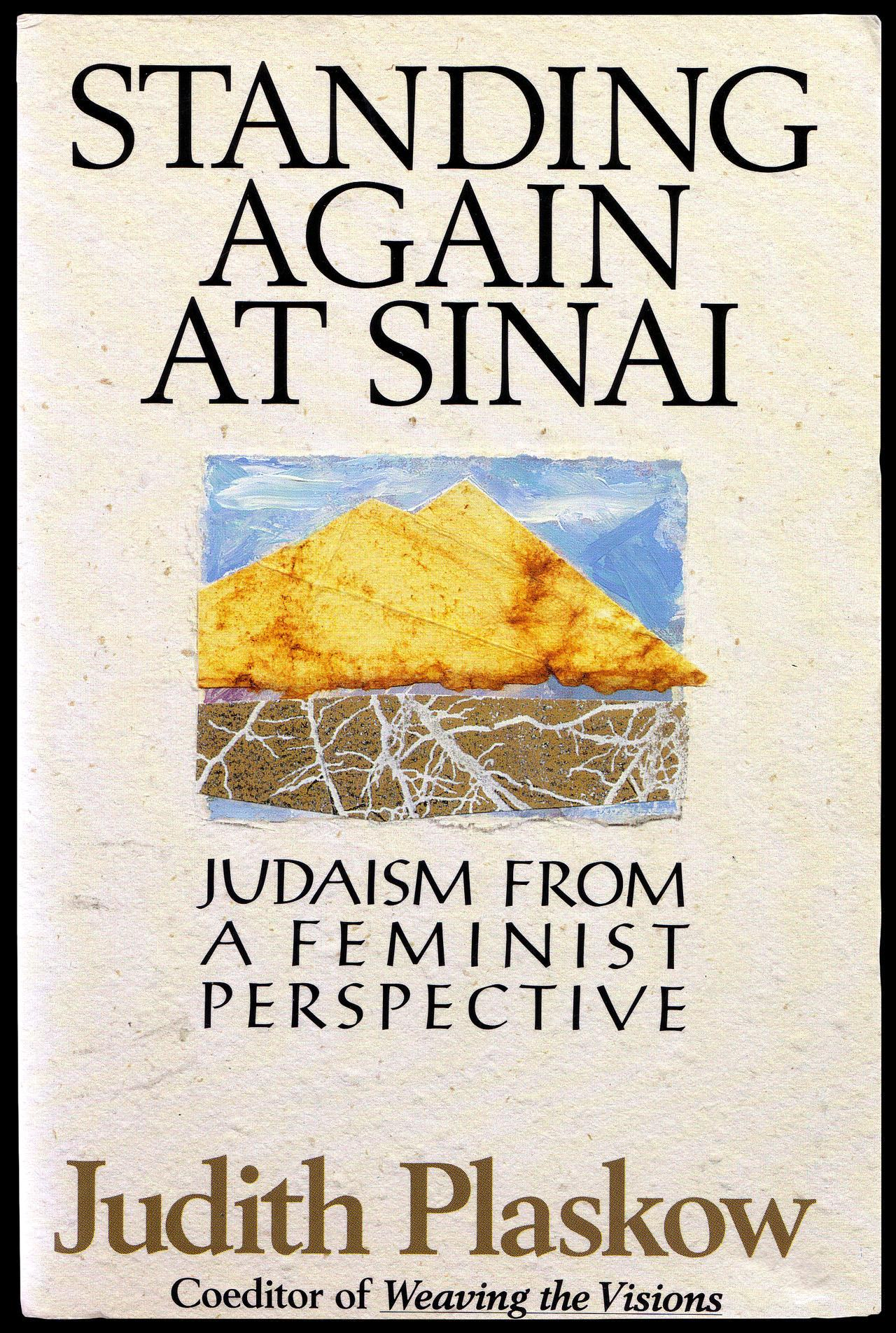 Standing Again at Sinai by Judith Plaskow cover