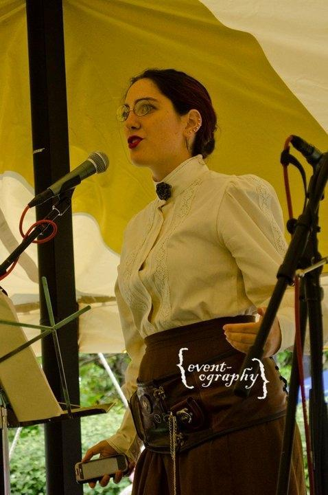 Steampunk Emma Goldman