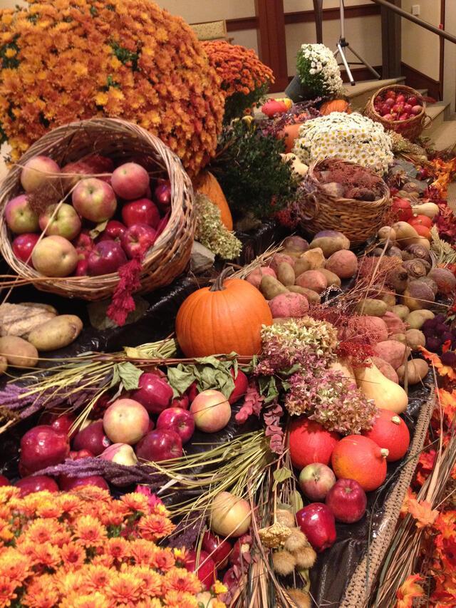 Sukkot Harvest