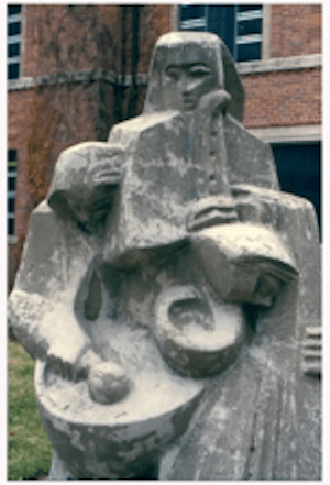 """The Three Musicians"" Sculpture by Sam Cashwan Main"