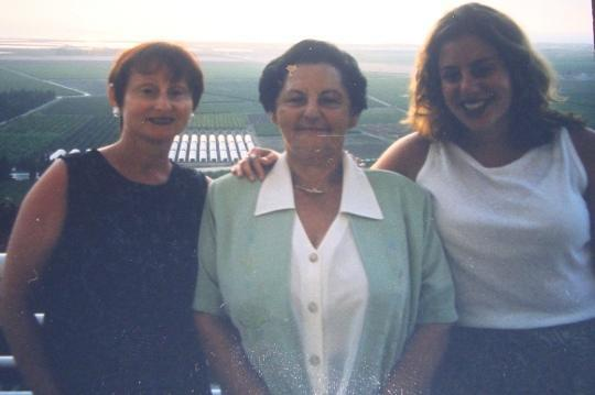 Three Generations: Ima, Safta and Me