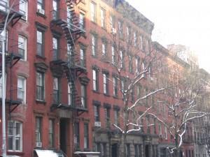 Tenements, New York City