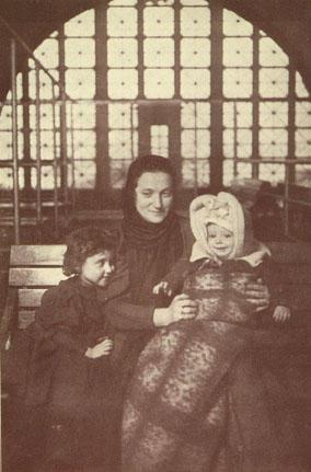 A Family at Ellis Island