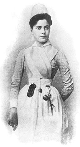 Lillian Wald in Nurse's Uniform