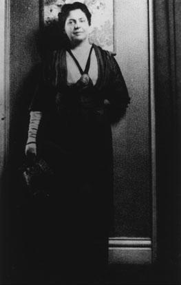 Lillian Wald in Evening Attire