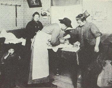 A Visiting Nurse on Call