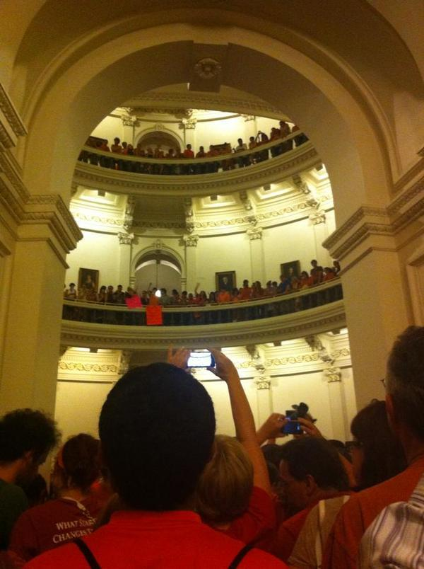 Texas Statehouse Protesters