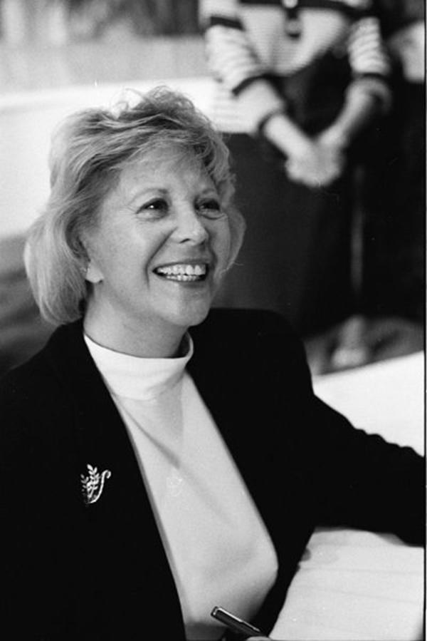 Dinah Shore at the Miami Book Fair International, 1990