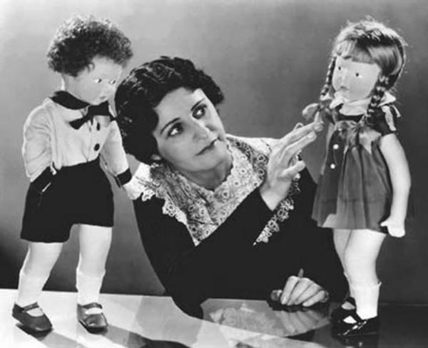 Beatrice Alexander Working with Dolls