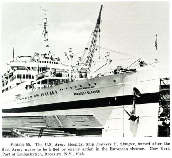 The U.S. Army Hospital Ship Frances Y. Slanger