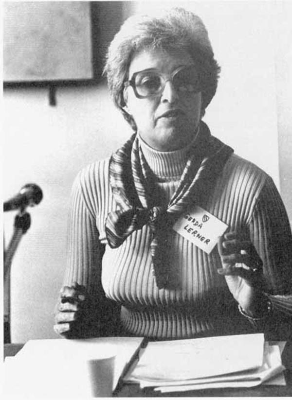 gerda lerners expose on the history of the subordination of women