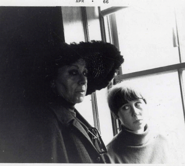 Louise Nevelson and Neith Nevelson