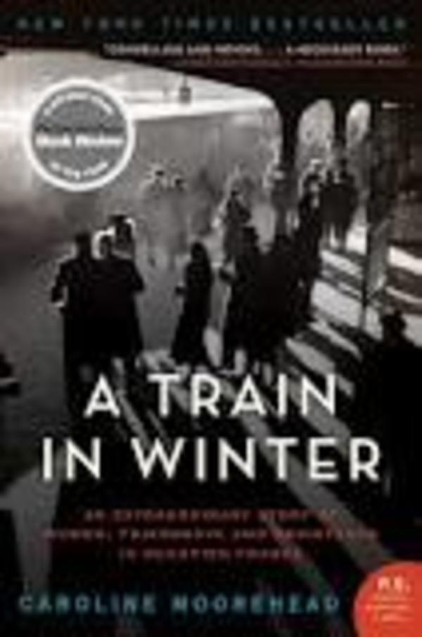 """A Train in Winter"" Front Cover"