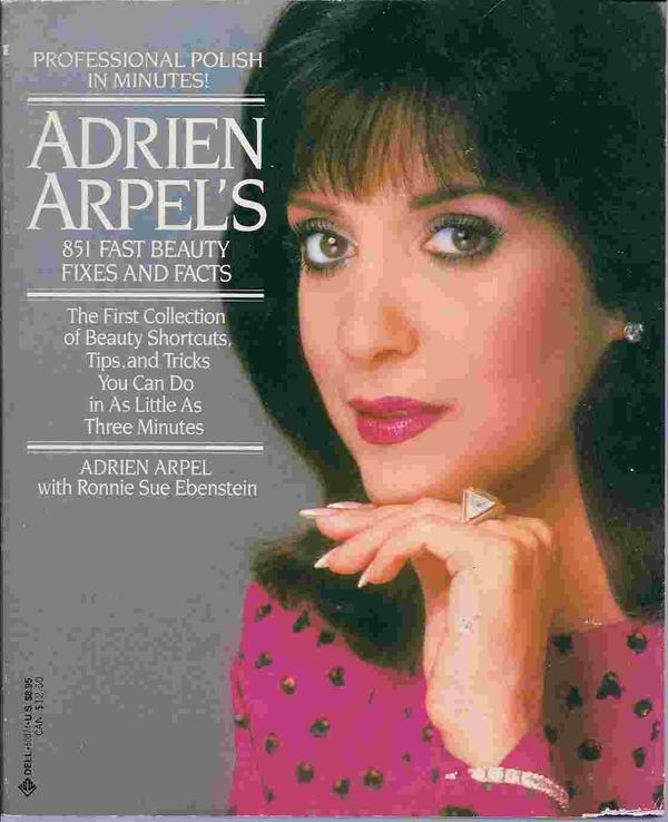 """851 Fast Beauty Fixes and Facts"" Front Cover by Adrien Arpel"