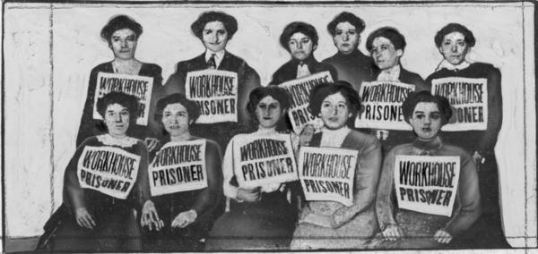 Arrested Shirtwaist Strikers, circa 1910