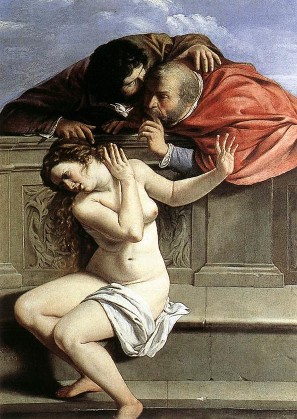 Susanna and the Elders by Artemisia Gentileschi