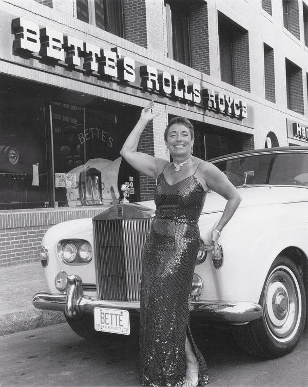 Bette Arnold with her Restaurant