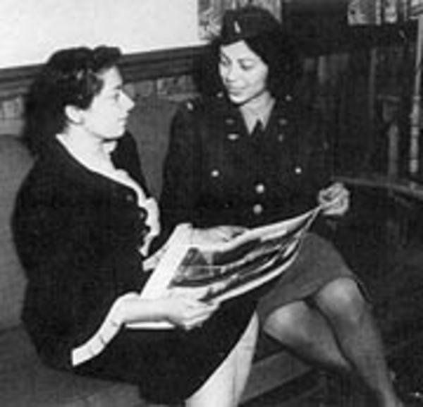 Matilda and Bernice Blaustein