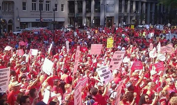 Chicago Teacher's Strike, September 2012