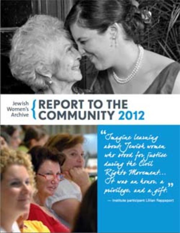 Community Report 2012 - thumbnail 250px