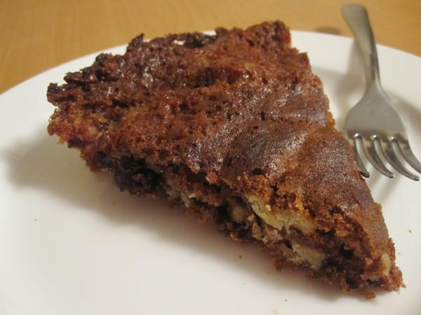 Date and Walnut Pie