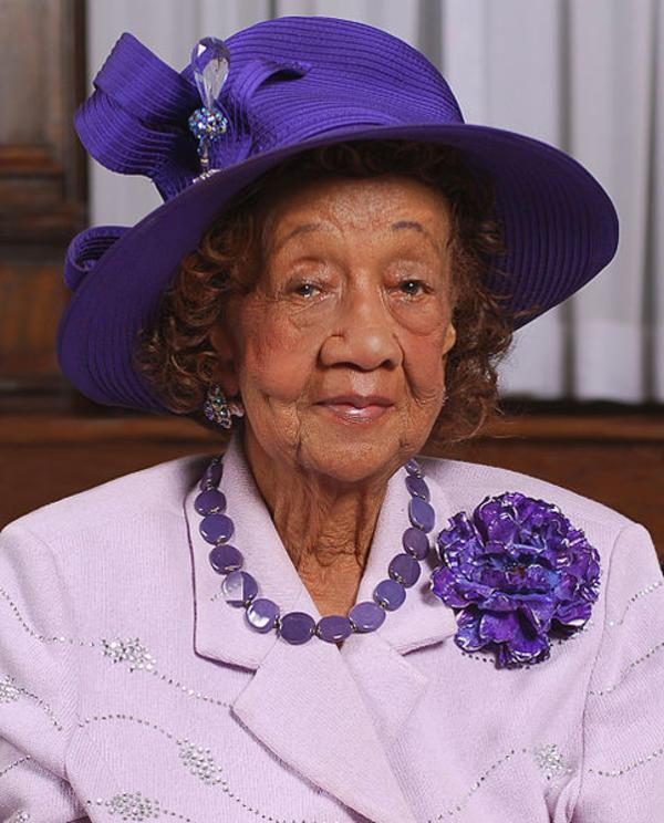Dorothy Height, June 2008