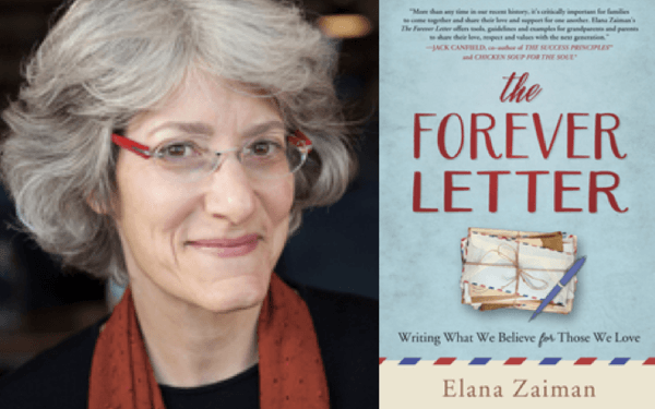 Rabbi Elana Zaiman and Forever Letter Composite