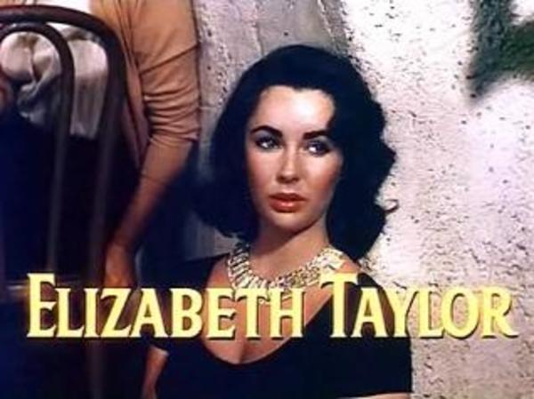 "Elizabeth Taylor in the Trailer for ""The Last Time I Saw Paris"""