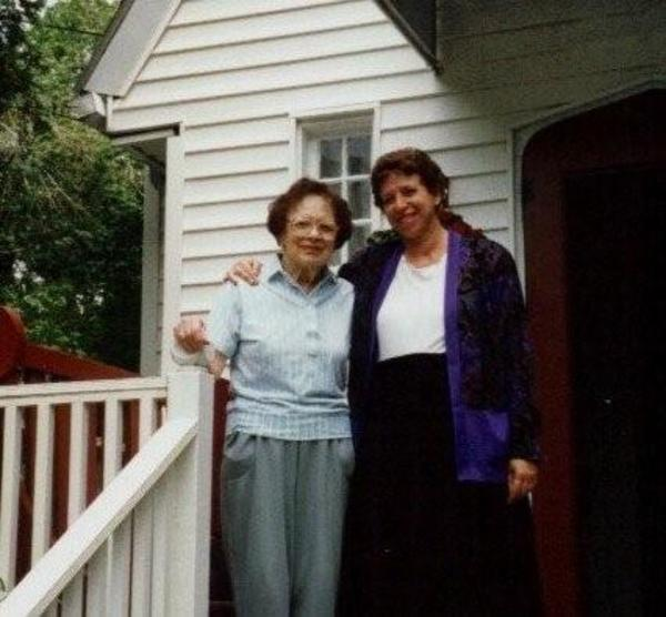 Eva Hindus and Merrill Joan Gerber