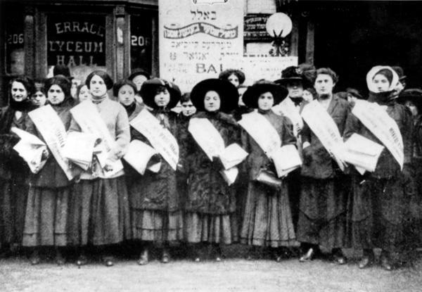 International Ladies' Garment Workers' Union Strikers, 1909